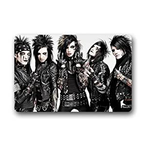 LOVELIFE Black Veil Brides Cool Man Picture Custom Doormat (23.6x15.7 inch) Indoor Outdoor