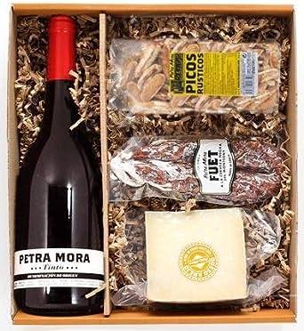 Petra Mora - Cesta de regalo gourmet: Pack Salado 1: Amazon.es ...