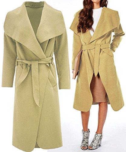 Momo Abrigo Fashions Para Claro Mujer Marrón frfw5q