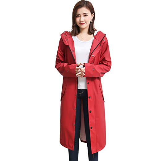 professional retail prices wide selection of colors Dajolg Rain Poncho Waterproof Adult Fine Waterproof Fabric ...