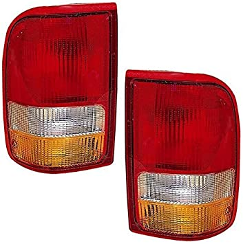 1-Pair by AutoLightsBulbs Ford Replacement Tail Light Unit