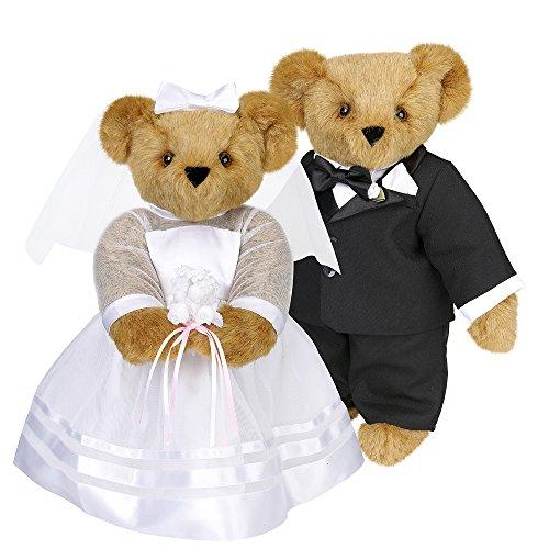 """Vermont 15"""" Wedding Bears"""