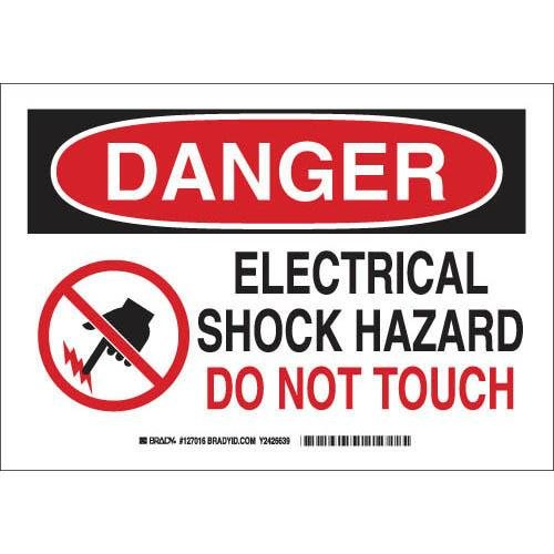 Electrical Hazard Sign - 3
