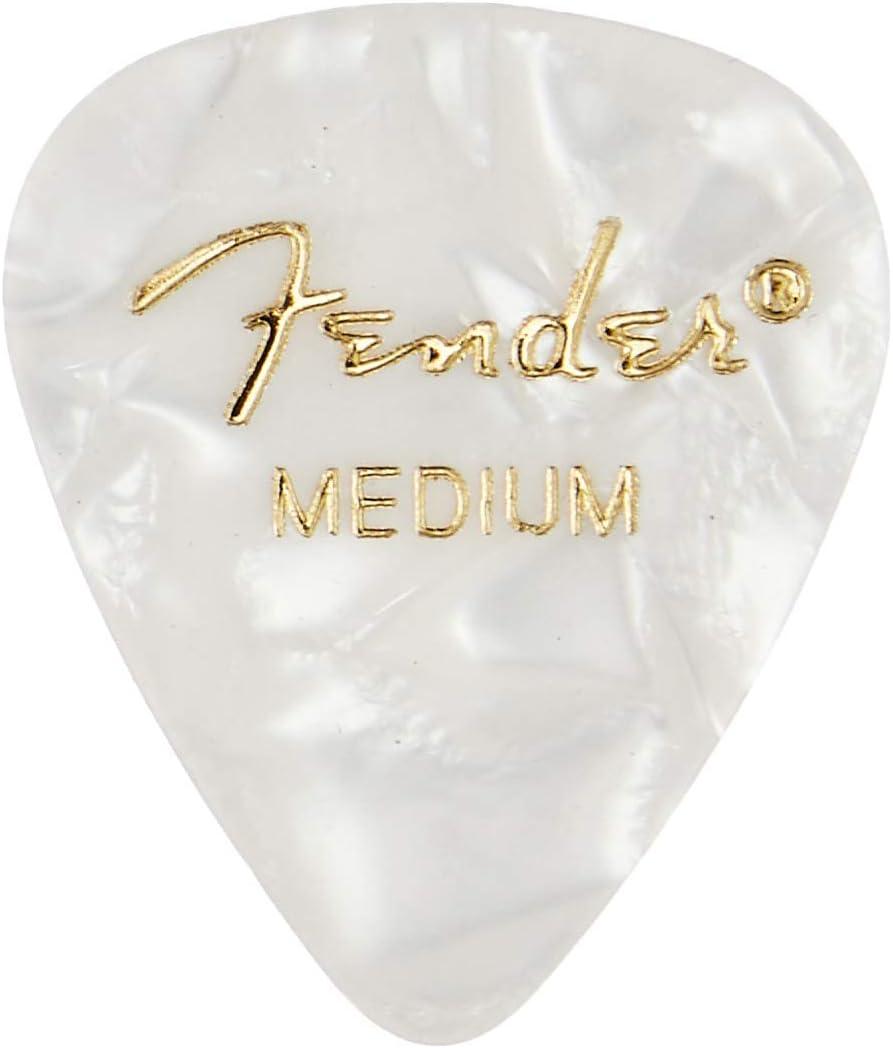 FENDER Genuine Fender® 351 Premium Picks Abalone Medium 12 pack