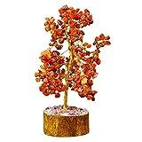 Harmonize Cornelian Tree Reiki Healing Stone Spiritual Feng Shui Vastu Table Décor