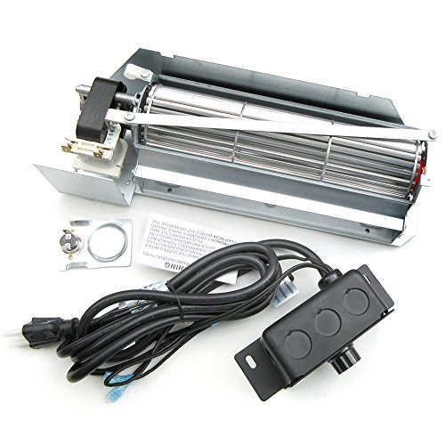 superior gas fireplace blower - 9