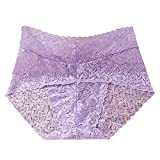 Lumumi_Lingerie Sexy Panties for Women for Sex,Womens Sexy Panties Hipster Lace Underwear Low Waist Briefs (One Size, Purple)
