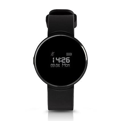 Impermeable reloj inteligente para Android y iPhone, multifunción Deporte Relojes para hombres y mujeres (