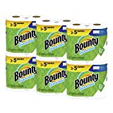 Bounty Quick-Size Paper Towels, White, Family Rolls, 12 Count (Equal to 30 Regular Rolls): more info