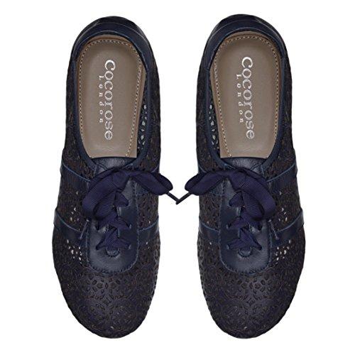 Cocorose Taglio Pelle Pieghevoli Laser Scarpe Donna Sneaker Blue Stratford UCrUzqw