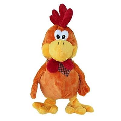 30cm danse musicale squawking jouet de poulet en peluche