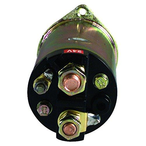 New 24V Starter Solenoid Replacement For Original Equipment Isuzu Nikko Nissan 3-Terminal 1-81151-038-0 5811510360 0-47100-3110 23343-99211 5811510360
