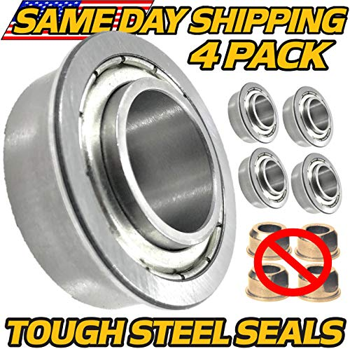 (4 Pack) Craftsman Wheel Bushing to Bearing Conversion LT1000 LT1500 LT2000 LT2500