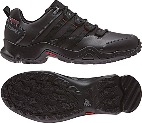 adidas Terrex Ax2R Beta CW, Zapatillas de Senderismo Para Hombre, Varios Colores (Negbas/Negbas/Grivis), 42 EU