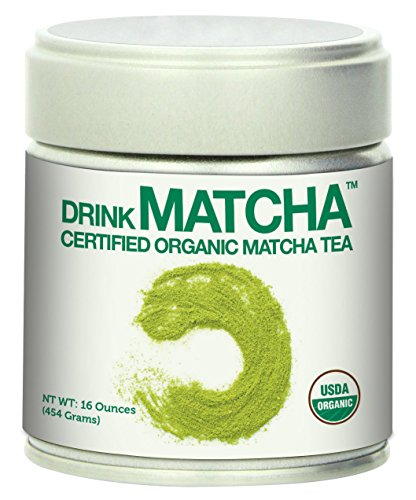 Drink Matcha - Matcha Green Tea Powder - USDA Organic - 100% Pure Matcha Green tea Powder - Nothing added