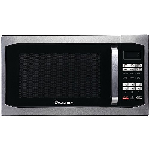 MAGIC CHEF MCM1611ST 1.6 Cubic-ft Countertop Microwave  elec