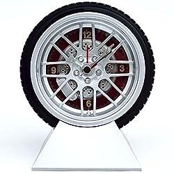Wheel and Tire Desk Clock