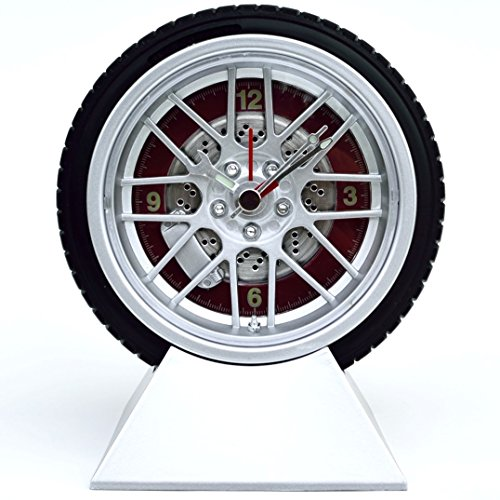 (Wheel and Tire Desk Clock)