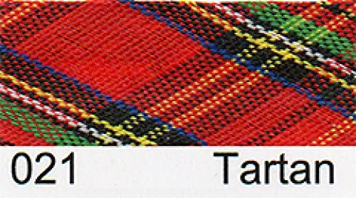 per metre 15mm Essential Trimmings Gingham Bias Binding Tape Tartan