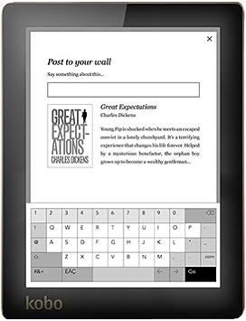Rakuten Kobo Aura lectore de e-Book Pantalla táctil 4 GB WiFi Rosa: Amazon.es: Electrónica