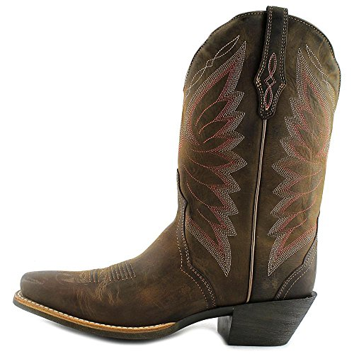 Ariat Womens Autry Western Cowboy Boot Brown 5m1NqCpzx