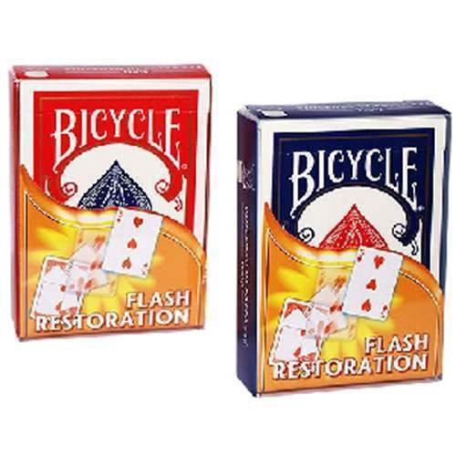 Tours et magie magique SOLOMAGIA Bicycle Flash Restoration blue back