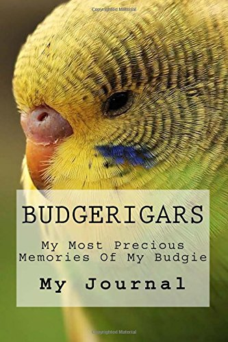 Read Online Budgerigars: Beautiful Budgerigars Journal to Record Your Precious Memories of your Special Bird (Small Parrots of the World) (Volume 1) pdf