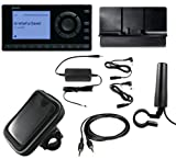 SiriusXM Radio Motorcycle Bundle with onyX EZ Receiver, Cradle, Motorcycle Antenna, Power Adpter, and Waterproof Case
