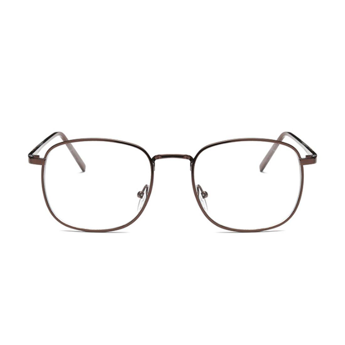 Aiweijia Männer und Frauen Myopie Brille Retro Fashion art Große ...