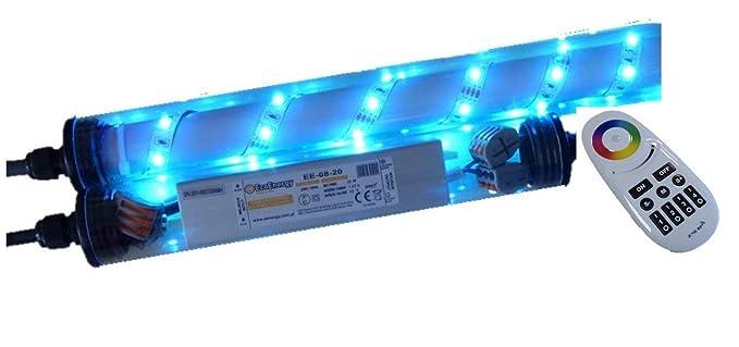 Orgon Gabion Lampe Tactile A Led En Plastique Transparent 1 40 M