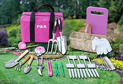 49-teiliges-Gartenwerkzeugset-mit-Korb-und-Tasche