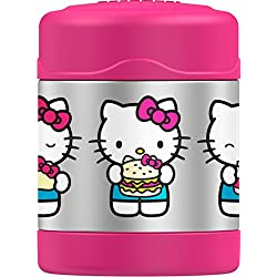Thermos Funtainer Tarro de comida de 10 onzas, Hello Kitty, color rosa
