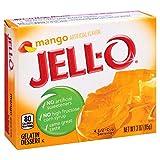 Jell-O Mango Gelatin Mix 3 Ounce Box
