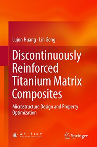 Discontinuously Reinforced Titanium Matrix Composites: Microstructure Design and Property - Titanium Matrix