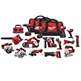 Milwaukee 2695-15 M18 Combo 15 tool Kit W/4 Xc Bat
