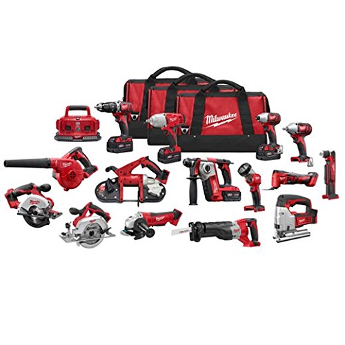 Milwaukee-2695-15-M18-Combo-15-tool-Kit-W-4-Xc-Bat