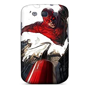 Scratch Protection Hard Phone Cases For Samsung Galaxy S3 (vtE15684ArPx) Support Personal Customs HD Daredevil I4 Skin