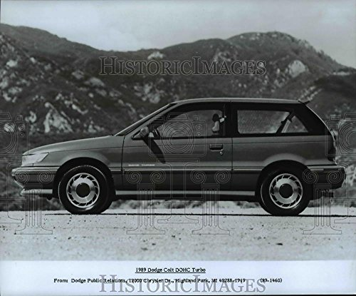 Vintage Photos 1988 Press Photo Dodge Colt DOHC Turbo 19789 - cvb14977-8 x 9.75 in. - Historic Images
