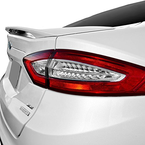 Dawn Enterprises FUS13 Factory Style Pedestal Spoiler Compatible with Ford Fusion - Oxford White (YZ)