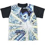 Astro Boy - Beams Youth Black Back 100% Poly T-Shirt