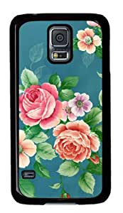 Refreshing 029 Samsung Galaxy S5 Case with Black Skin Edges PC Hard Shell by Shariecover