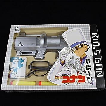 名探偵コナン 怪盗キッド トランプ銃 メガネ 道具 玩具おもちゃ コスプレ用品(写真通り