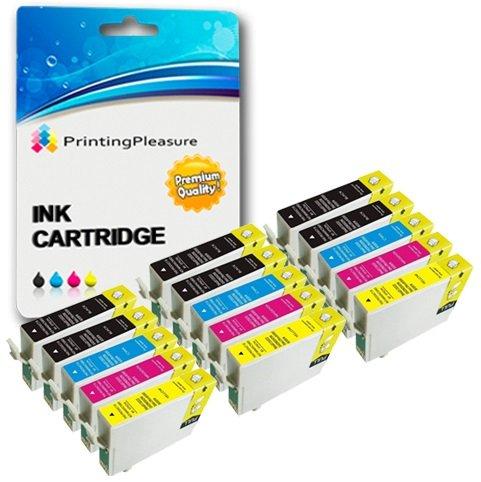31 opinioni per 15 Cartucce d'inchiostro compatibili per Epson Stylus Photo R240, R245, RX400,