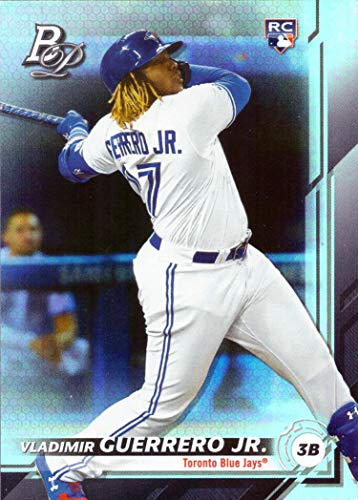 2019 Bowman Platinum Baseball #27 Vladimir Guerrero Jr. Rookie Card - Short Print (SP) (Bowman Baseball Card Sets)