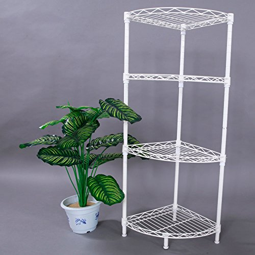 bathroom wall corner shelf unit - 8