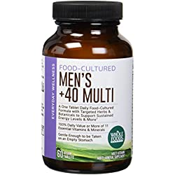 Whole Foods Market, Food-Cultured Once Daily Men's 40+ Multi, 60 ct