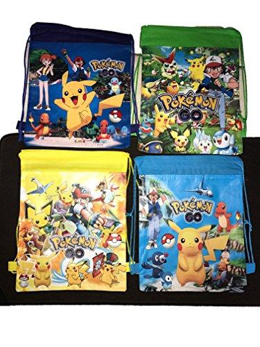 Pokemon Bag - Cartoon Drawstring Bag (Pokemon)