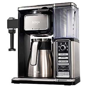Ninja Coffee Maker As Seen On Tv : Ninja Coffee Bar 50 oz. Stainless Steel Brewer System in Black: Amazon.ca: Home & Kitchen