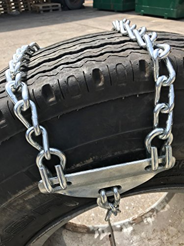 TireChain.com Emergency tire chains for Large Trucks - fits tire sizes larger than 275 mm-, priced per pair by TireChain.com (Image #1)