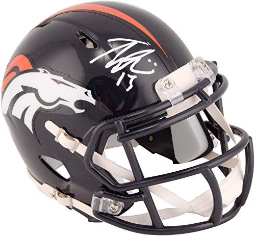 Trevor Siemian Denver Broncos Autographed Riddell Speed Mini Helmet - Fanatics Authentic Certified - Autographed NFL Mini Helmets